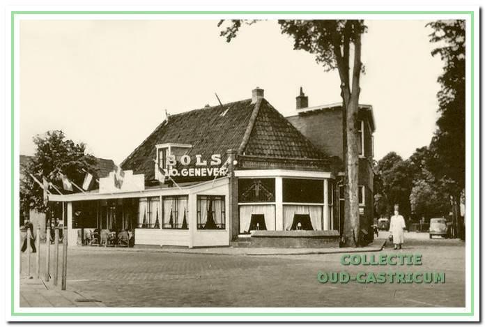 Datum onbekend: Het Bondshotel van Broksma.