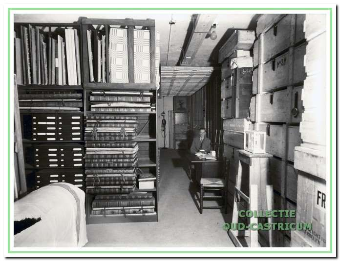 database nr 700146 titel interieur schuilkelder 1940